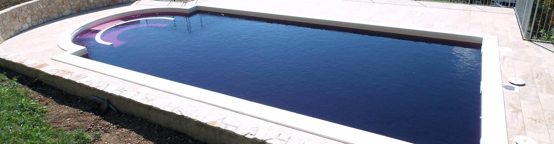 Prova colore per piscine collaudo piscine con prova for Colore per piscine