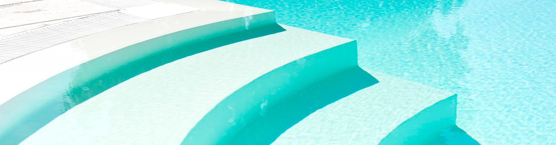 ... progettazione costruzione scale per piscine in muratura  Bonati